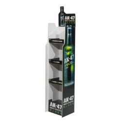 Loja de Varejo personalizado Supermercado Pop garrafa de água do vinho de metal suporte de monitor de Bebidas