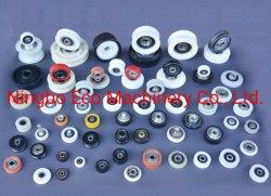 Customized 608/625/624/6200zz rolamento de esferas POM Caster/Nylon porta corrediça e cilindro de vidro da polia de roda
