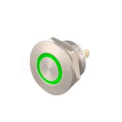 Новый продукт Hban IP67 водонепроницаемый коммутатора 12 в мини-Микровыключателя зеленый