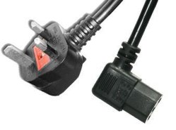 Conector de CA Cable de alimentación IEC60320 EN EL REINO UNIDO C15 Cable de alimentación de caldera de extensión británica