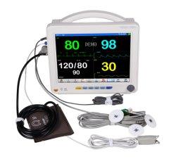 Multi-Parameterのモニタの病院の救急車装置か大きいマルチパラメータ心拍数のモニタ