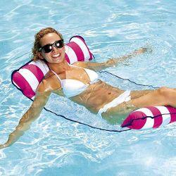 Группа игрушки бассейн Beach надувные воду с плавающей запятой гамак кровать с плавающей запятой