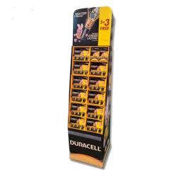 Bandeja de papel de Expositor de suelo para la pantalla de la batería Batería/Pantalla Pallet Rack
