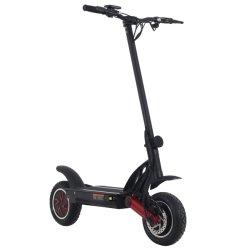 Scooter eléctrico plegable de 10 pulgadas para librar de la cruz