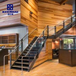 Corrimão da escada interior de design moderno 304 Baluster em aço inoxidável