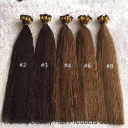 La virgen de alta calidad Remy Extensiones de Cabello señala doble extremo grueso mano atada trama cabello tejido