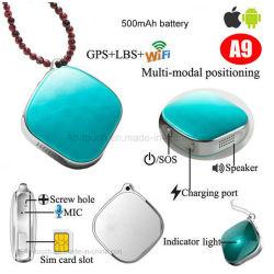Scheda SIM portatile dispositivo di tracciamento GPS personale con tracciamento In Tempo reale A9