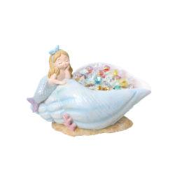 北欧の創造的な楽しみのホームデスクトップの装飾の手綱の人魚キャンデーの記憶の皿