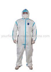 Médicos desechables One-Piece Mono de protección de las prendas de vestir