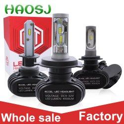 55W Glühlampe-elektrisches Auto-Konvertierungs-Installationssatz des Auto-LED des Scheinwerfer-9000lm Selbstder lampen-6500K LED