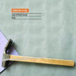 H-30 Hardware Construção ferramentas de mão Quadrada Pega de madeira Adze