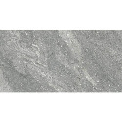 750X1500mm ダークグレーラグジュアリー大理石デザイン屋内ビトリファイド 整流フルボディセラミックガラス全面光沢仕上げ磁器床 壁用タイル