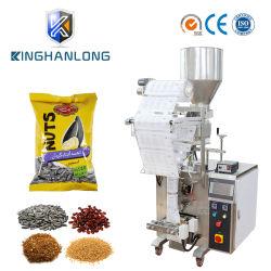 Volle automatische Sonnenblumensamen/Kaffeebohnen/gebratene Erdnuss-/Grain-Quetschkissen-Verpackungs-Verpackmaschine