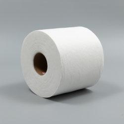 Spunlace Vliesstoffrollen 40gsm geprägt für nasse Tücher Spunlace Nicht Gewebte Reinigungstücher Nicht Gewebtes Gewebe Lieferant