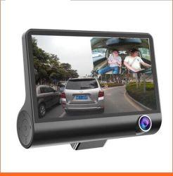 4 Zoll-Bildschirm Video DVR 3 Ways HD Auto Schwarz Box Rearview Auto DVR Fahren Recorder
