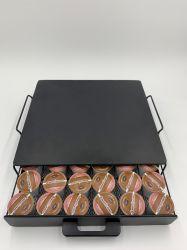 La cápsula de café de acero/Cápsulas Cajón Rack
