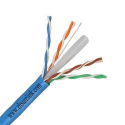 Câble LAN ACC ou cuivre nu intérieur ou extérieur 4 paires Câble Ethernet câble torsadé UTP Cat 6 FTP CAT6 SFTP CAT6 F/UTP CAT6