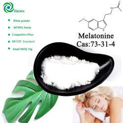 화장품 CAS 73-31-4/Melatonine 정제 /Capsule/Softgel OEM를 위한 제조자 공급 Melatonine 분말