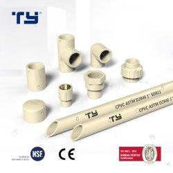 Standard-Wasserversorgung-Rohr des CPVC Belüftung-PlastikASTM 2846/Gefäß-gemeinsame Befestigung