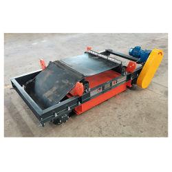Vehículos blindados de Self-Cleaning separadores permanente el mineral de manganeso separador magnético