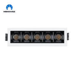 lampada lineare messa 12W del LED con il driver corrente costante (abbagliare l'affidabilità libera e alta, CRI90)
