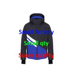 Mens Laser 커트 열 압박 메우는 물건 겨울 외투 옥외 재킷