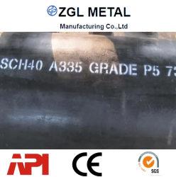 Tube sans soudure en acier allié ASTM A335&Tuyau P1/P2/P5/P9/P11/P21/P22/P91 pour la haute pression Chaudière industrielle
