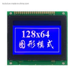 20 l'affissione a cristalli liquidi di Pin 128X64 punteggia la scheda blu grafica del modulo dello schermo della priorità bassa LED di controllo di visualizzazione dell'affissione a cristalli liquidi IL CI St7920