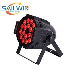 Quad 18*10W 4en1 LED RGBW/RGBA PAR, vous pouvez