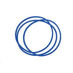 Guarnizione di tenuta in gomma NBR o-ring in silicone per la tenuta