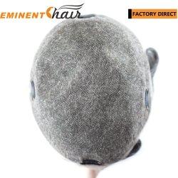 Точная сварной моно человеческого волоса мужской волос замена