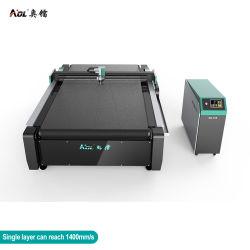 Aol d'alimentation automatique CNC Marine-Canvas Textiles/marine/machine de coupe de tissu de la faucheuse