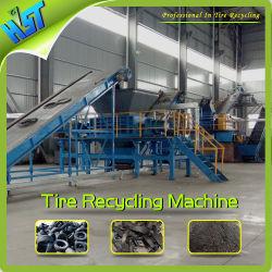 Sistema de reciclado de neumáticos de los residuos de acero alambre máquina separadora de virutas de goma
