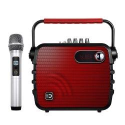 Shidu 30Wの専門の可聴周波携帯用カラオケプレーヤーの無線電信のスピーカー