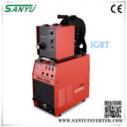Sanyu IGBT de bonne qualité de l'onduleur Machine à souder MIG-350 séparés