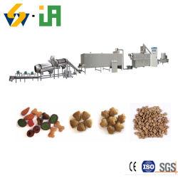 건조한 개밥 가공 기계 애완 동물 먹이 압출기 고양이 먹이 생산 라인