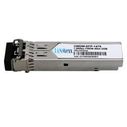CWDM SMF módulo transceptor SFP de 1,25g módulo SFP CWDM conector LC 120km.