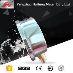 """Medidor de pressão de 100 psi e 300 psi 1/4"""" Centro 2,5"""" de diâmetro Manômetro MPa e psi com o Suporte"""
