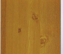 Film de plafond en PVC de gros grain du bois d'aluminium de conception