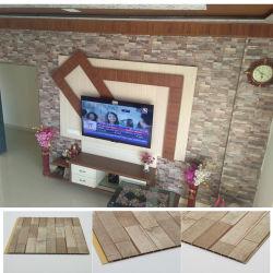 Внутренних дел декоративными покрытиями оболочка ПВХ 3D-кирпичной стены панели сделаны в Китае