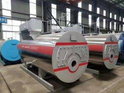 3tonne Nautral Diesel Chaudière à vapeur alimentées au gaz de pétrole générateur pour le riz Mill / aliments / industriel Usine de textile