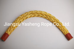 Чрезвычайно высокой молекулярной массы полиэтилена PE веревки UHMWPE трос швартовный трос для судна