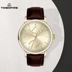 Les hommes de haute qualité Watch Bracelet Cuir montre-bracelet multifonction Ventes en gros (72003)