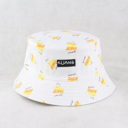 Cappello su ordinazione della benna del bambino del cappello della benna del cotone della stampa di schermo