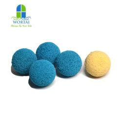 كرات مطاطية ملونة تستخدم لتنظيف خط الأنابيب بكثافة عالية والجودة