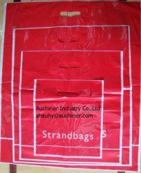 ドア・ノブ袋は袋パッチのハンドル袋のフリーザー袋を型抜きした