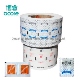 Simple/Double faces du papier d'emballage alimentaire revêtu de PE, PE de papier couché pour le sucre/café/sachet de thé