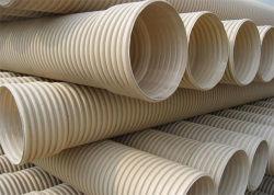110mmの二重壁下水のための波形PVC排水の管