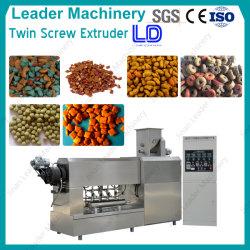 Les aliments pour chiens de grande capacité de l'extrudeuse Type végétale sèche les poissons se nourrissent de poissons flottant de la machine de traitement Food Machine