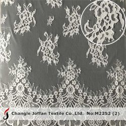 Venda por grosso Swiss Voile Tulle Lace rendas francesas para vestidos de tecido (M2252)